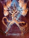 Zhu Rong -Fire Goddess-