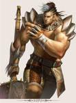 MMO Game Character design Kepu