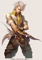MMO Game Character design Osborne by yuchenghong