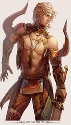 MMO Game Character design Prometheus by yuchenghong