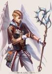 MMO Game Character design Raziel