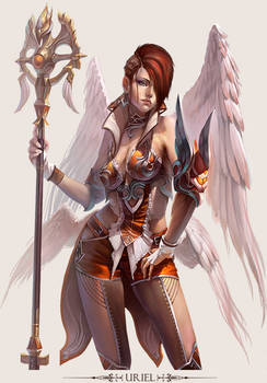 MMO Game Character design Uriel