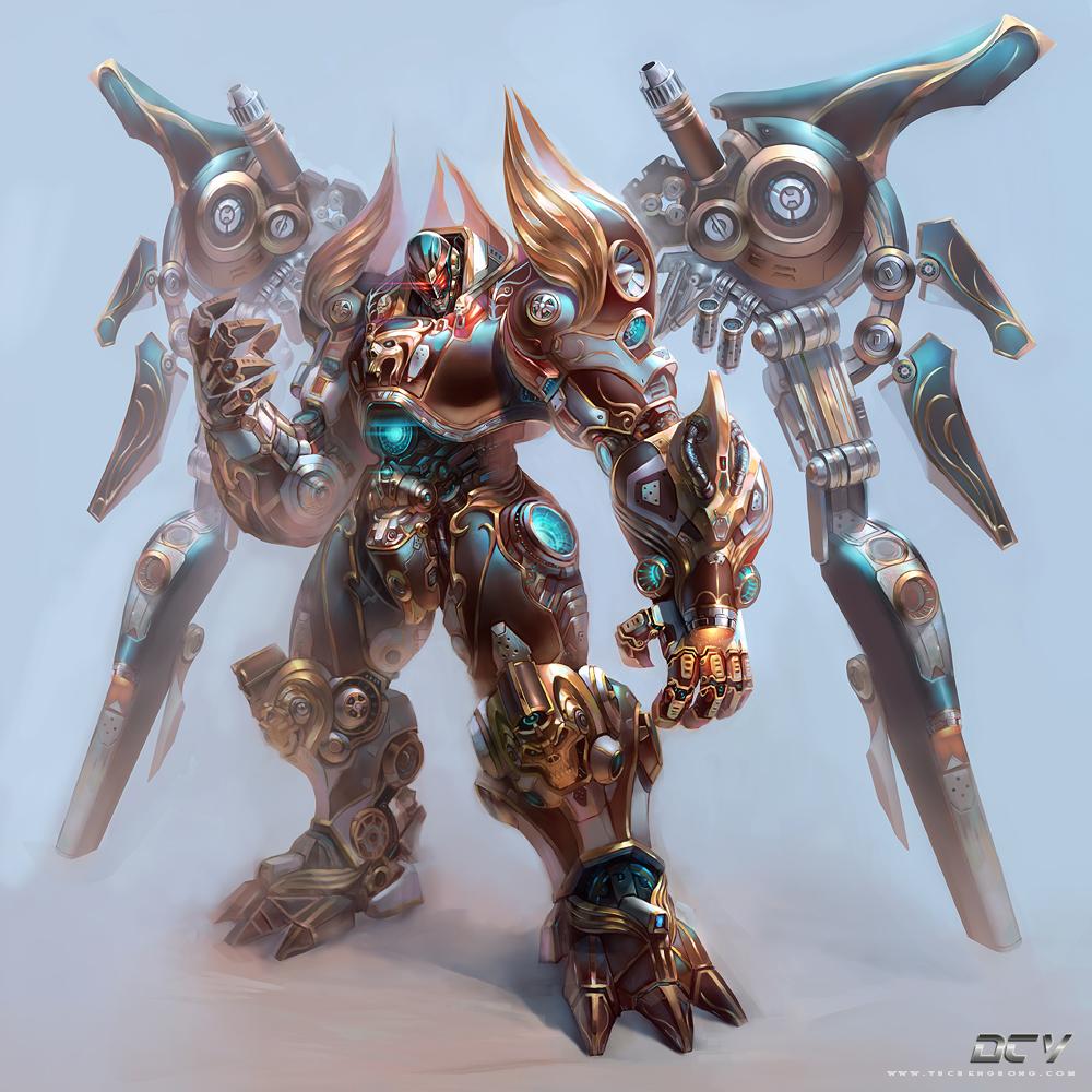 Cyborg by yuchenghong