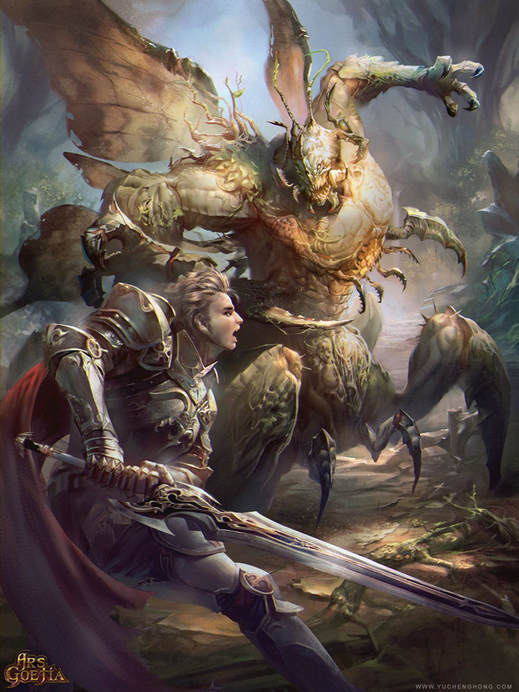 Knight by yuchenghong