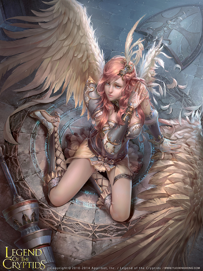 angel Eriselle(regular version) by yuchenghong