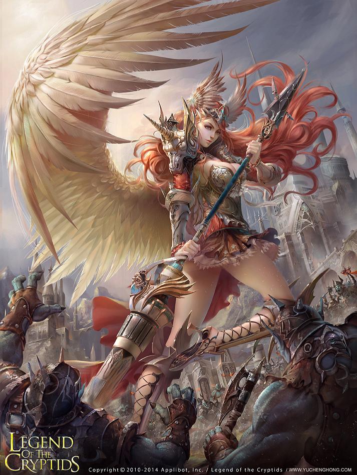 Angel Eriselle by yuchenghong