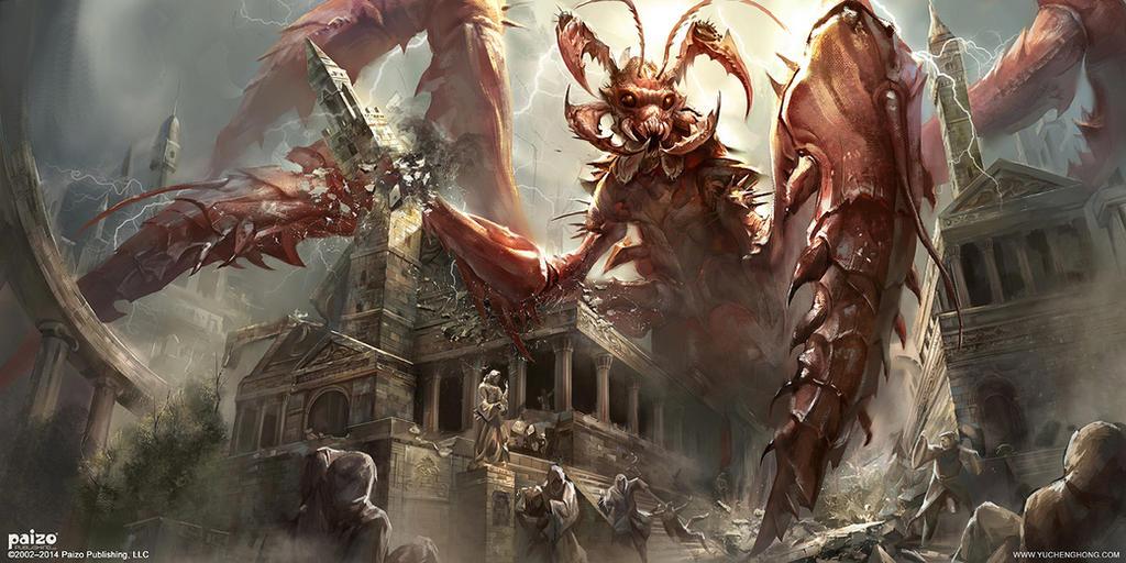 Mantis God, Achaekek by yuchenghong