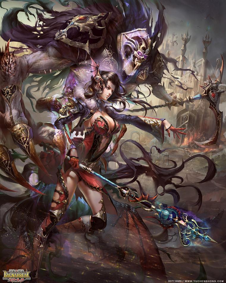 Galeria de Arte: Ficção & Fantasia 1 Yuchenghong_witch_thelema_02_by_yuchenghong-d7jxo5y