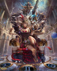 Polaris Queen Cassiopeia by yuchenghong