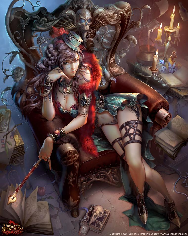 Witch Millenia by yuchenghong