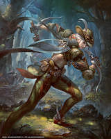 Mobius Final Fantasy hunter by yuchenghong