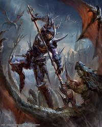 Mobius Final Fantasy -- Dragoon by yuchenghong