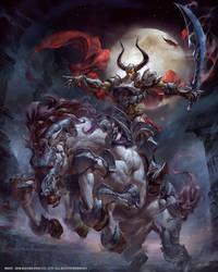 FF7- Odin by yuchenghong