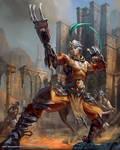 Mobius Final Fantasy - Monk