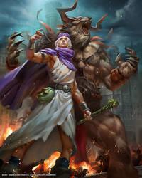 Mobius Final Fantasy- Dragon Quest V Hero
