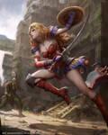 Mobius Final Fantasy (FFIV Soldieress)