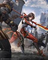 Mobius Final Fantasy-Iroha by yuchenghong