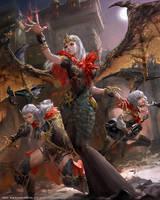 Mobius Final fantasy- Erinyes by yuchenghong