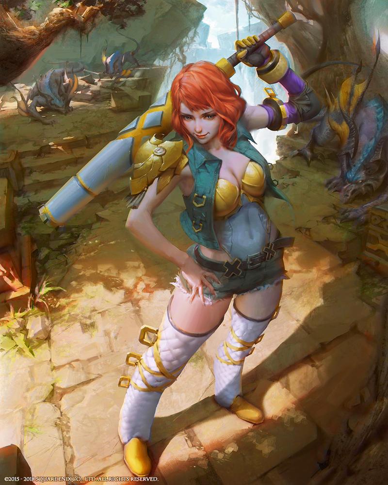 Mobius Final Fantasy-Sophie by yuchenghong