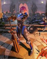 Mobius Final Fantasy Sophie by yuchenghong