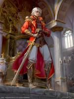 Final Fantasy Brave Exvius - Shera by yuchenghong