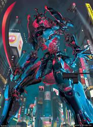 GATE RULER - Giant Corpse Armor Gashadokuro by yuchenghong