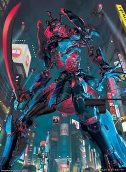 GATE RULER - Giant Corpse Armor Gashadokuro