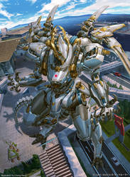 Gate Ruler-Dragon type battle weapon-Naruikazuchi