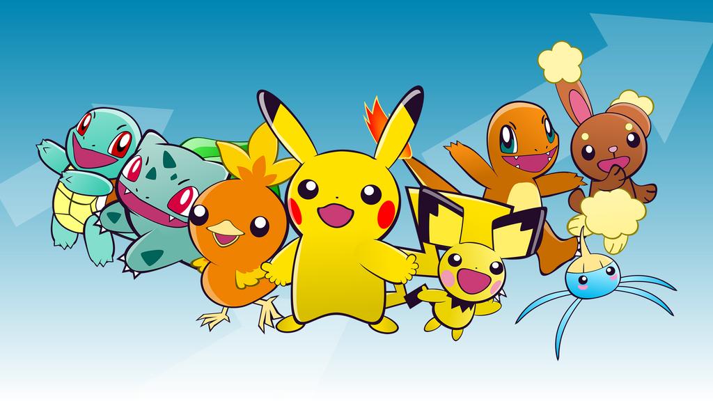 Pokemon - Puyo Puyo 20th Anniversary Style by tetriser016