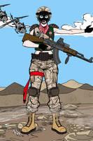 Cpt. Sylvia Kosnkrova in Afghanistan by Maverick1313