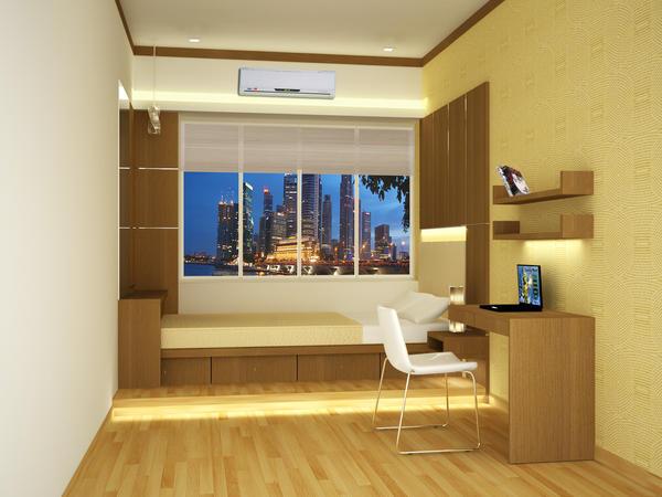 Single Bedroom interior by creativegenie on DeviantArt
