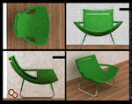 Furniture design - easy chair