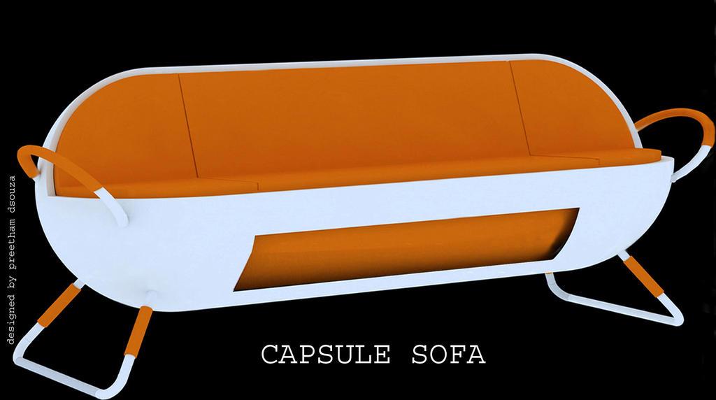 Capsule sofa by creativegenie