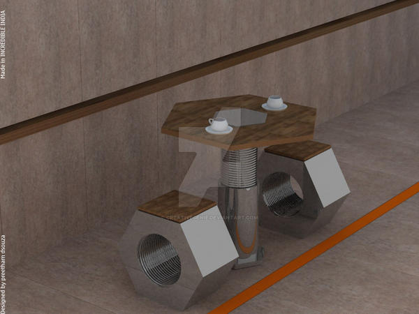 Coffee table by creativegenie