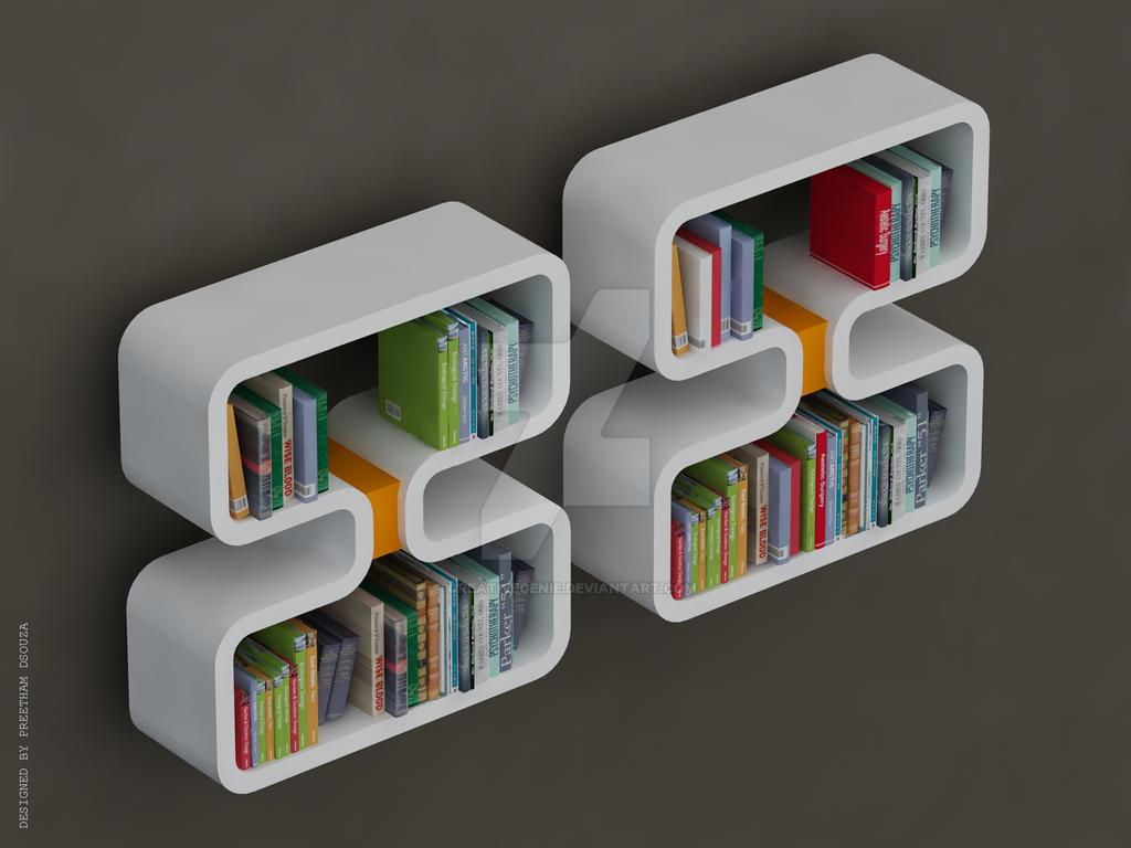 Double 8 Bookshelves by creativegenie