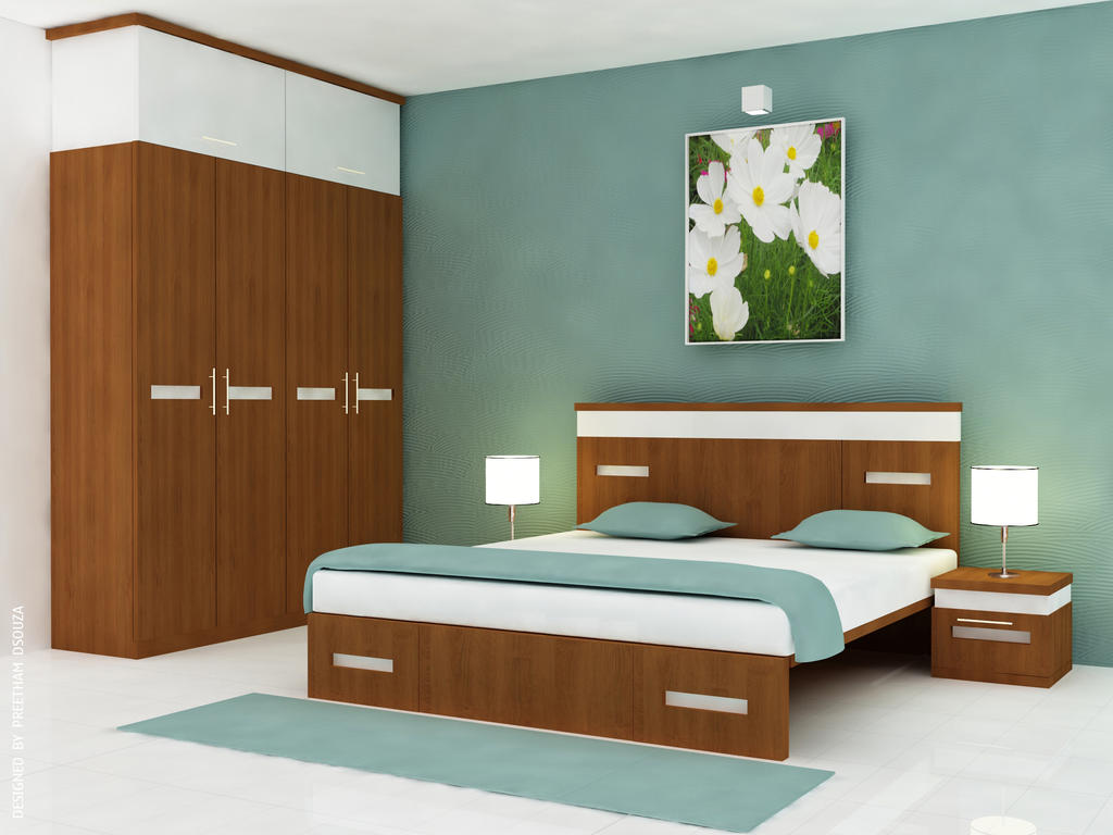 kirthan  Master bedroom by creativegenie