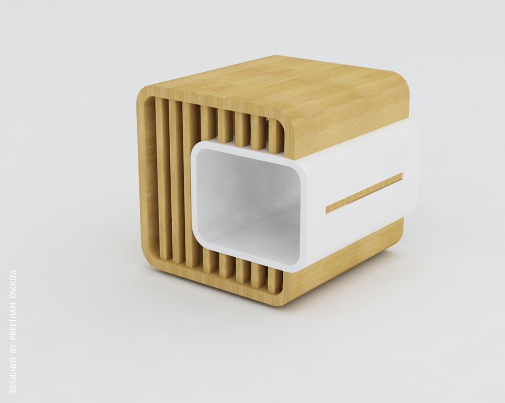 Dual box stool by creativegenie