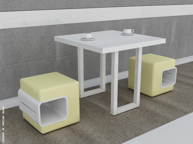 Box stools +coffee table by creativegenie