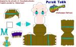 Halloween Peter Paper Craft!
