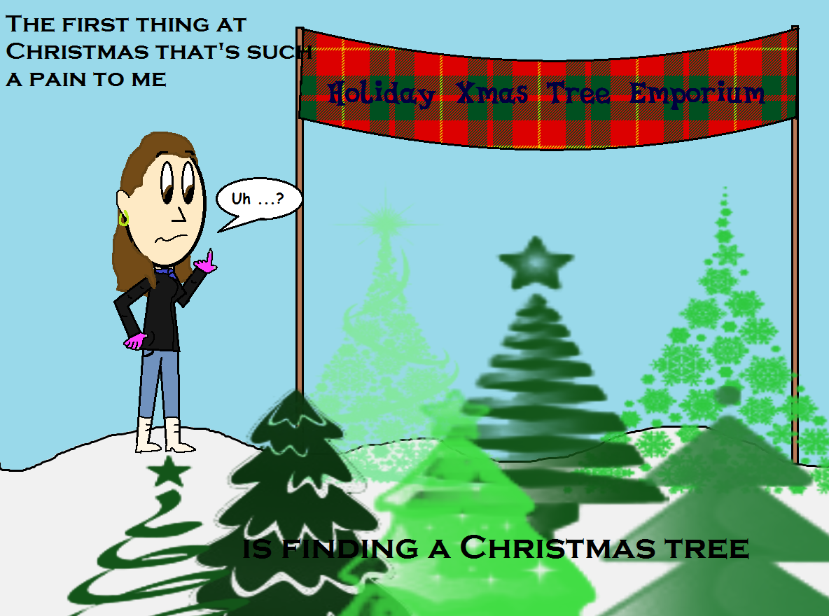 The 12 Pains Of Christmas.12 Pains Of Christmas Meme Scene Style 1 By