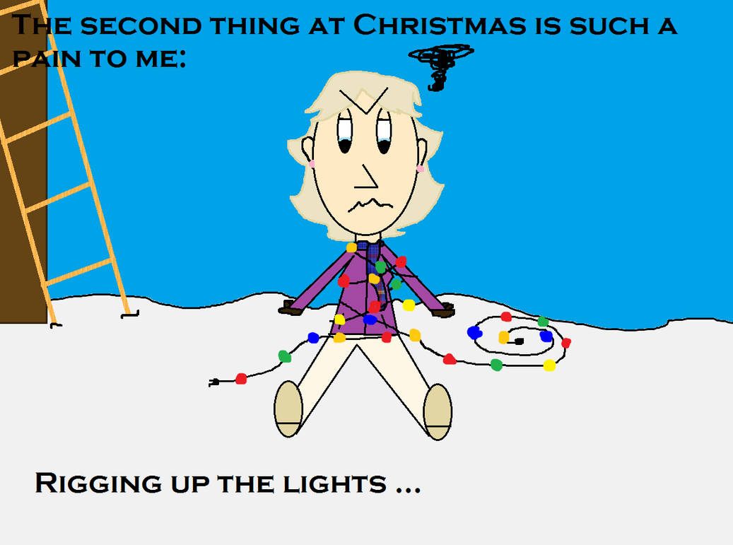The 12 Pains Of Christmas.12 Pains Of Christmas Meme Scene Style 2 By