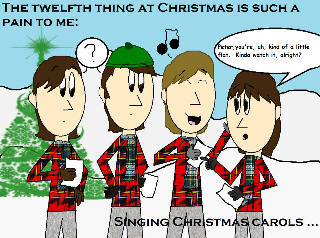 The Twelve Pains Of Christmas.12 Pains Of Christmas Meme Scene Style 12 By