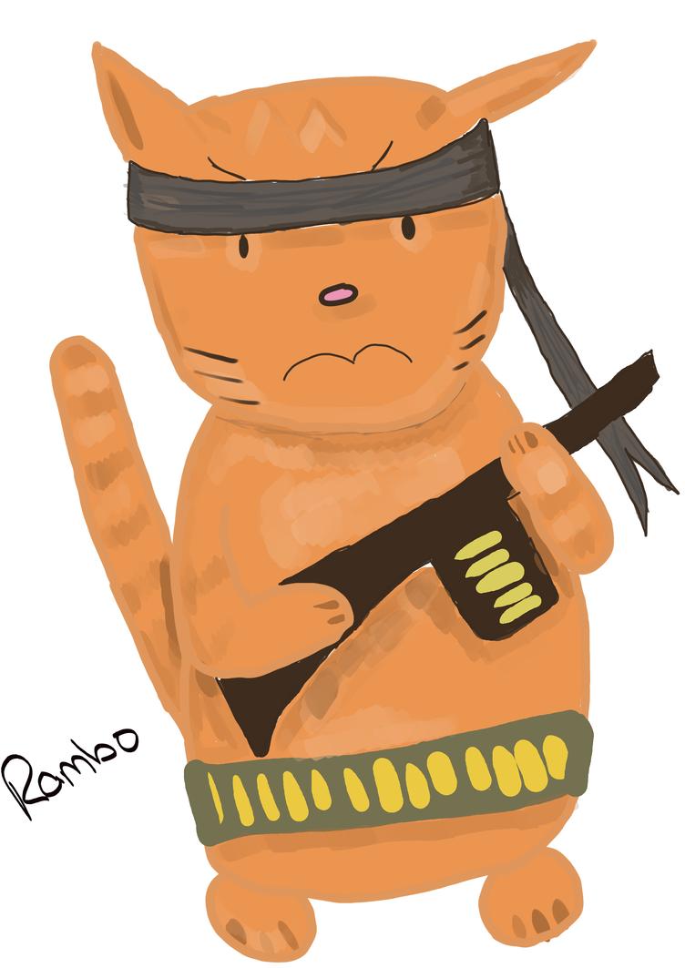 Rambo by TeflonSuperhero