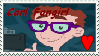 Carl fangirl stamp by Envytheskunk