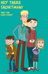 Hey There Shortman! Meet the Lear Family