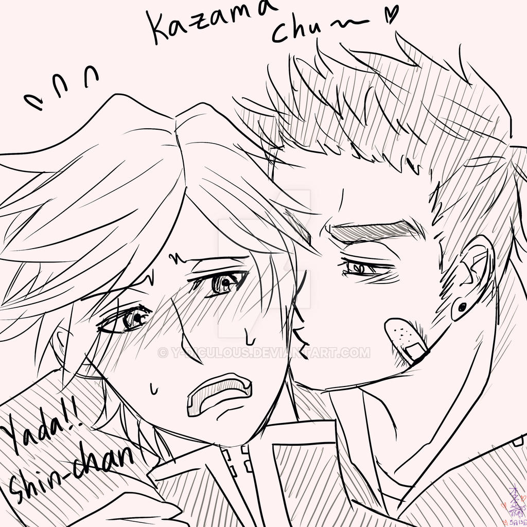 Shinnosuke X Kazama [Shin-chan] By Y-diculous On DeviantArt