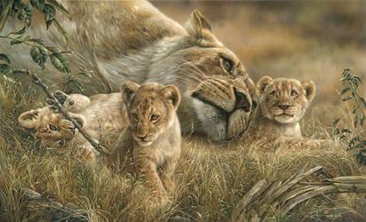 Mother's Love by denismayerjr
