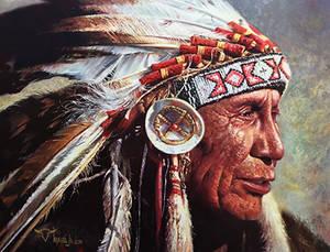 Chief Portrait Study.