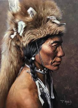 Yellow Kidney- Piegan American Indian