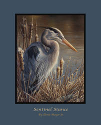 SENTINEL STANCE - Blue Heron